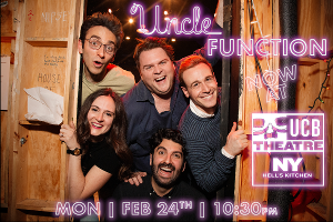 Sketch Comedy Troupe Uncle Function Begins Monthly Residency At UCB Theater