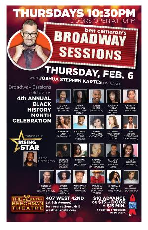 Broadway Sessions Celebrates Black History Month
