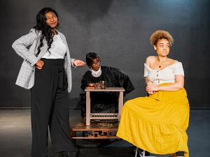 The African-American Shakespeare Company Presents THE TRIAL OF ONE SHORT-SIGHTED BLACK WOMAN VS. MAMMY LOUISE AND SAFREETA