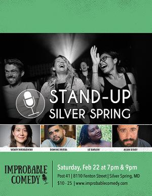 STAND-UP SILVER SPRING Is Back At Post 41!