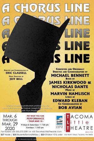 Tacoma Little Theatre Presents A CHORUS LINE