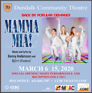 MAMMA MIA Returns to Dundalk Community Theatre March 6