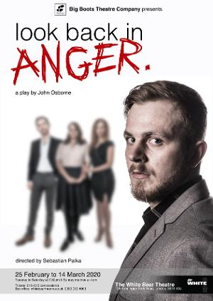 New Revival Of John Osborne's LOOK BACK IN ANGER Comes to The White Bear