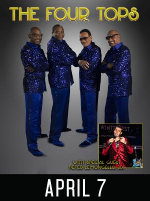 Coral Springs Center For The Arts Will Present THE FOUR TOPS