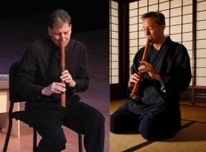 DOUBLE SHAK! - MUSIC FOR TWO SHAKUHACHI Announced at Soapbox Gallery