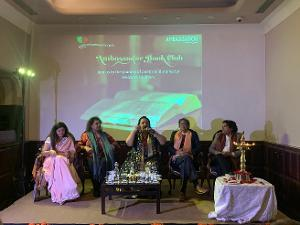 Poetry And Story Finds Space At The First Edition Of Ambassador Book Club Rama Pandey Appeals For Peace