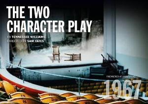 David Dawson And Lyndsey Marshal Will Lead THE TWO CHARACTER PLAY At The Hampstead Theatre