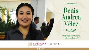 Denis Vélez,soprano Mexicana Ganadora En The Metropolitan Opera Y Tejedora De Sueños