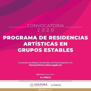 Publica El Fonca La Convocatoria Para El Programa De Residencias Artísticas En Grupos Estables 2020 De La Compañía Nacional De Teatro Y Del Cepromusic