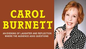 Carol Burnett Rescheduled at Aronoff Center