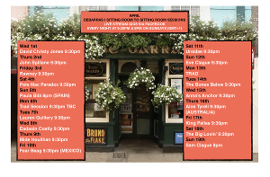 DeBarras Announces 'Sitting Living Room To Living Room Sessions' With John Spillane, Trad Sessions, and More!