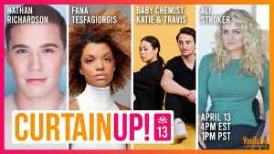 Ali Stroker, Lilli Cooper, Teal Wicks, Ciara Renee, and More Join This Week's Lineup Of CURTAIN UP!, A Show Dedicated To Entertaining Isolated Seniors