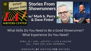 L.A. Writers Center Announces Webinars BY Writers FOR Writers