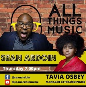Two-Time Grammy Nominee Sean Ardoin, Hosts ALL THINGS MUSIC Every Thursday