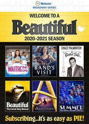 Palace Theater Waterbury Announces WAITRESS, THE BAND'S VISIT and More for 2020/21 Broadway Series