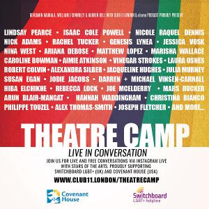 Benjamin Rauhala, William J Connolly and Darren Bell Launch THEATRE CAMP: LIVE!