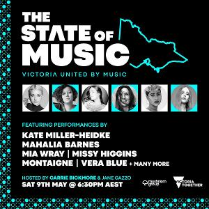 Tune Into THE STATE OF MUSIC This Saturday