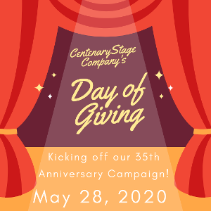 Centenary Stage Company Announces Day Of Online Giving Event