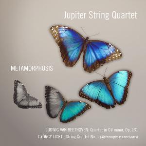 Jupiter String Quartet Releases New Album 'Metamorphosis' June 12