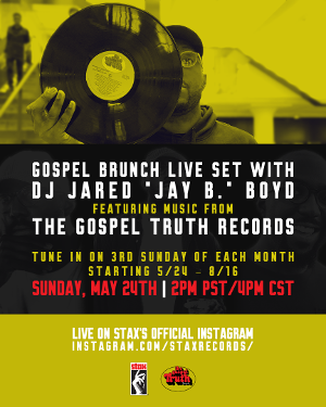 Stax Records Kicks Off New Instagram Live Series This Sunday