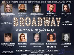 Nik Walker, Gerard Canonico, and More Set For BULLETS ON BROADWAY Murder Mystery to Benefit the Roger Rees Awards