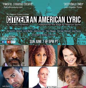 Fountain Theatre Speaks Out Against Racism With Live-Streamed Reading OfCITIZEN: AN AMERICAN LYRIC