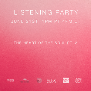 CREATIVITY IN REVOLT Live Stream & Listening Party Announced