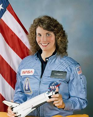 History At Play Presents CHALLENGER: Soaring With Christa McAuliffe