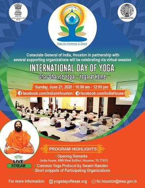 This Sunday Join Virtual Celebrations For The Sixth International Day Of Yoga