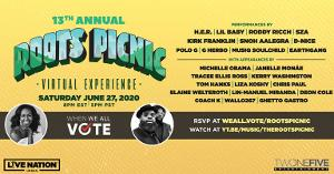 The Roots Picnic 2020 Partners With Michelle Obama's 'When We All Vote' For Virtual Festival Experience