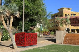 Artist-Designed Recycle Bins Installed At Scottsdale Waterfront