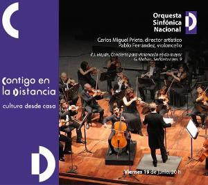 La Orquesta Sinfónica Nacional Presenta Obras De Haydn Y Mahler En Concierto Virtual