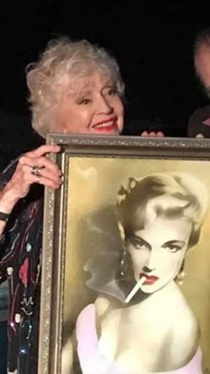 Kathleen Hughes Receives Lifetime Achievement Award