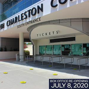 North Charleston Coliseum Advance Ticket Office Re-Opens July 8