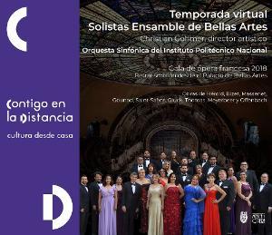 Solistas Ensamble De Bellas Artes Inicia Temporada Virtual 2020
