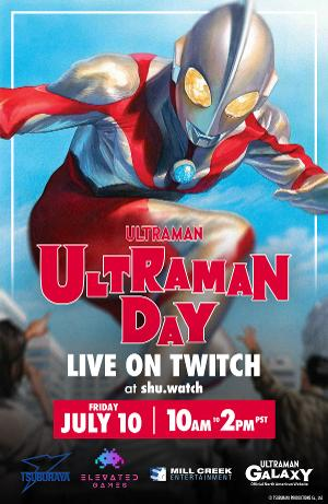 Ultraman Day Set For Launch This Friday July 10