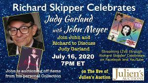 Richard Skipper Celebrates Judy Garland With John Meyer