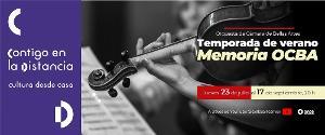 La Orquesta De Cámara De Bellas Artes Comparte Grabaciones Históricas En Su Temporada De Verano Memoria OCBA