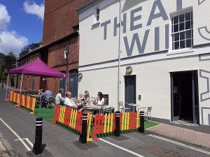 Cafe Bar At Theatre Royal Winchester Signs Up To Eat Out To Help Out Scheme