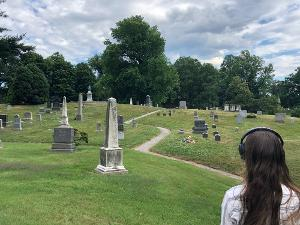 HERE Returns To In-Person Events With Gelsey Bell's CAIRNS, Soundwalk Of Green-Wood Cemetery