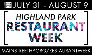 Eat Your Heart Out: Highland Park Restaurant Week Starts Friday!