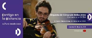 El Violinista Marco Arias Participa En Conoce A La OCBA