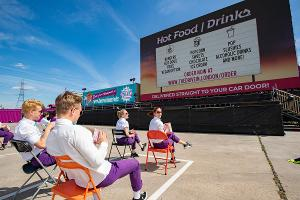 THE DRIVE IN Will Begin Pedestrian and Cyclist Tickets For Live Events and Films This Summer