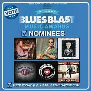 Gulf Coast Records Artists The Proven Ones, Billy Price, Albert Castiglia Nominated For 2020 Blues Blast Music Awards