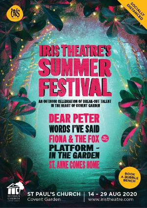 Iris Theatre Announces Outdoor Summer Festival Lineup