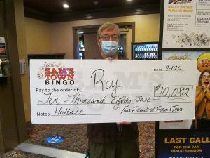 Local Resident Scores $10,000+ On A Bingo Hotball Jackpot At Sam's Town Las Vegas