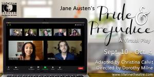 Lifeline Theatre Announces Virtual PRIDE AND PREJUDICE And New Membership Program