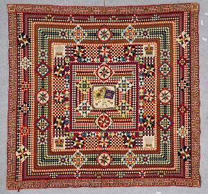 Quilts From Military Fabrics Exhibition Comes To Adelaide For The First Time