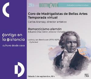 El Coro De Madrigalistas Rinde Homenaje A Beethoven Con La Canción Del Sacrificio