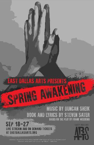 SPRING AWAKENING Will Live Stream From East Dallas Arts Directed by Jeremy Landon Hays
